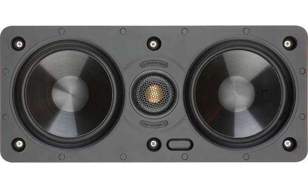 Monitor Audio W150-LCR Direct view with grille removed