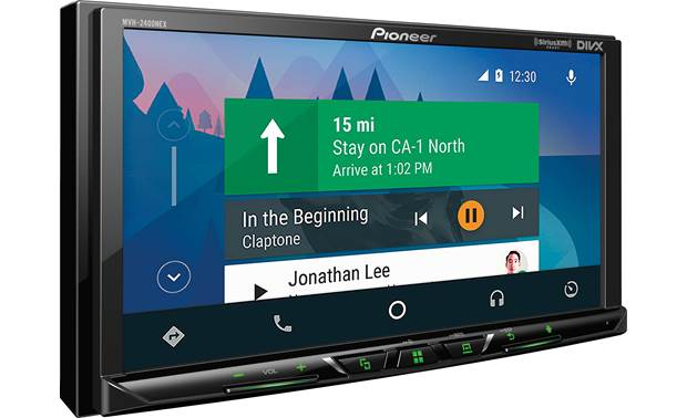 Pioneer MVH-2400NEX Use Android Auto to access navigation while your smartphone is connected