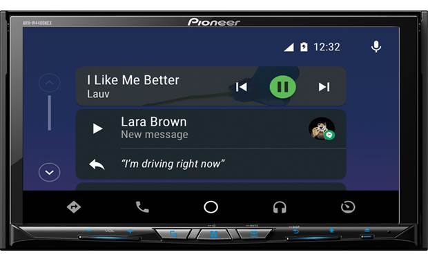 Pioneer AVH-W4400NEX Text message notification