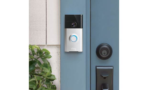 Ring Video Doorbell Slim design fits in anywhere