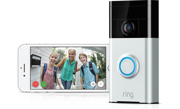 Ring Video Doorbell Never miss a visitor!
