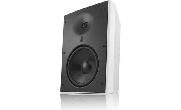 "Revel M80XC rugged 8"" aluminum cone woofer and 1"" aluminum dome tweeter"