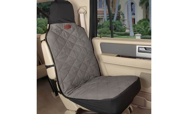 PetSafe Premium Bucket Seat Cover Shown inside vehicle