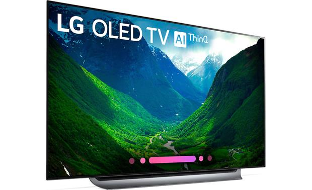 LG OLED65C8PUA Angled right