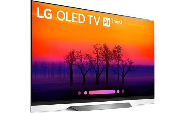LG OLED65E8PUA Angled right
