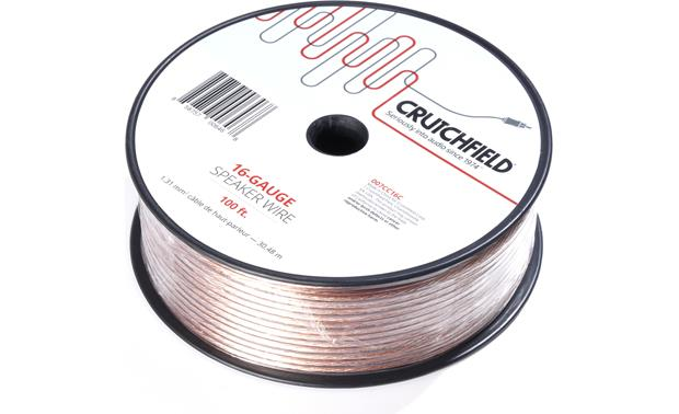 Crutchfield Speaker Wire Front