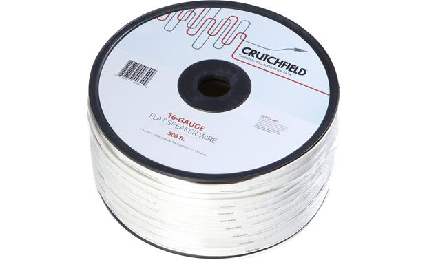 Crutchfield Flat Speaker Wire (500-ft. roll) 16-gauge wire at ...