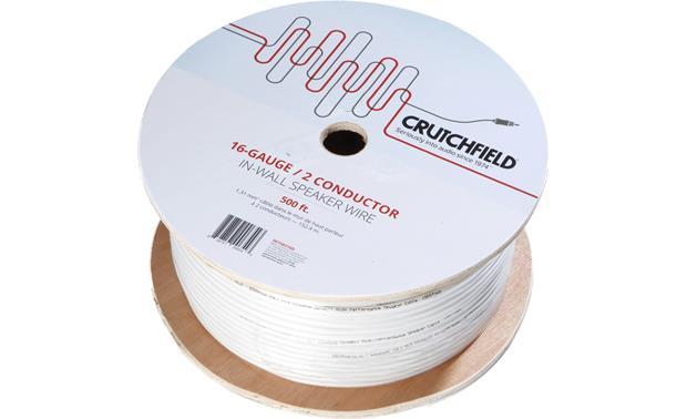 Crutchfield In-wall Speaker Wire Front
