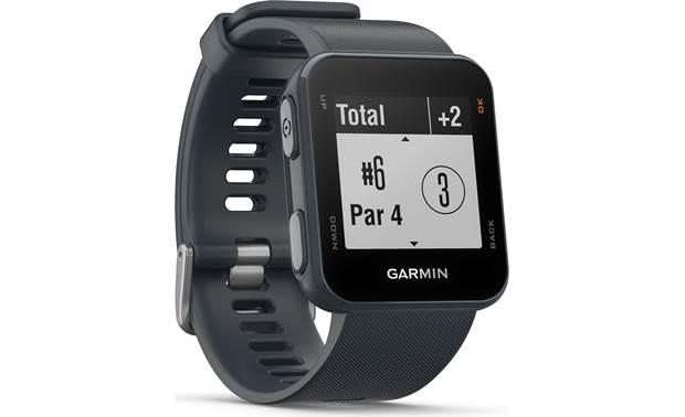 Garmin Approach® S10 Tracks holes automatically