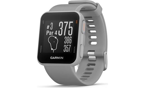 Garmin Approach® S10 Approach S10 provides accurate distances.