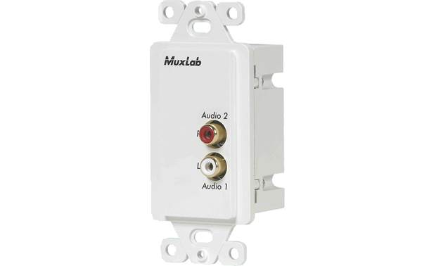 Liberty MuxLabs Stereo Audio Balun Wall Plate Front