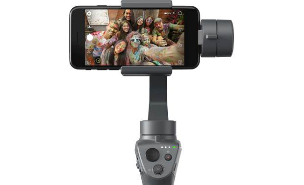 DJI Osmo Mobile 2 Shown in horizontal orientation (phone not included)