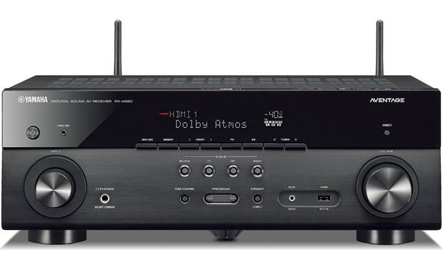 yamaha aventage rx a680 7 2 channel home theater receiver. Black Bedroom Furniture Sets. Home Design Ideas