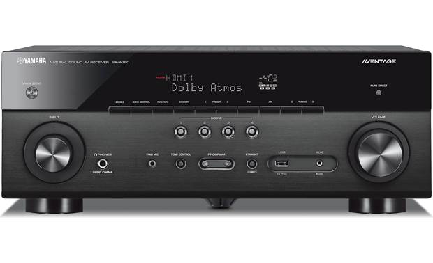yamaha aventage rx a780 7 2 channel home theater receiver. Black Bedroom Furniture Sets. Home Design Ideas