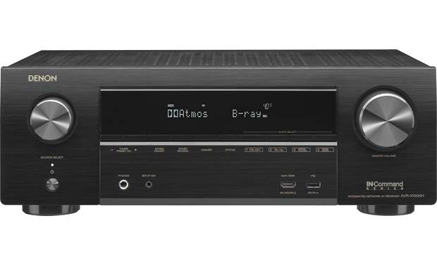 Denon IN-Command Series AVR-X1500H Front