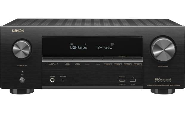 Denon IN-Command Series AVR-X2500H Front