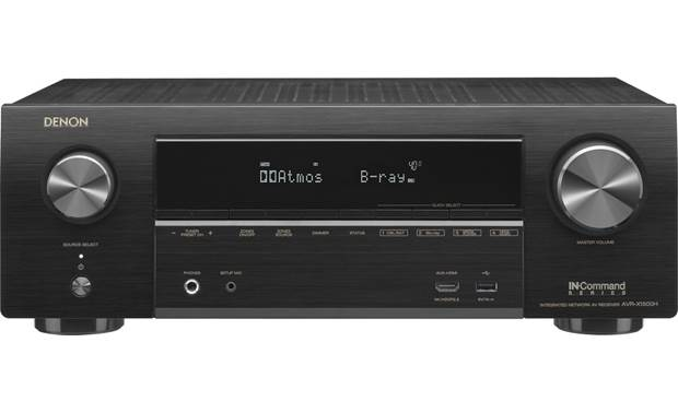 Denon AVR-X1500H 7 2-channel home theater receiver with Wi-Fi