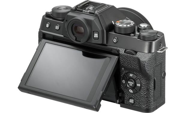 Fujifilm X-T100 (no lens included) Shown with touchscreen tilted upward
