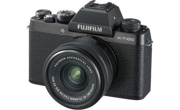 Fujifilm X-T100 Kit Angled front view
