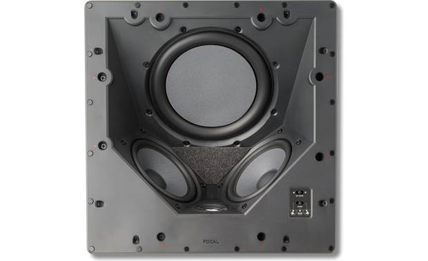 Focal 100 ICLCR 5 View from directly underneath with grille removed