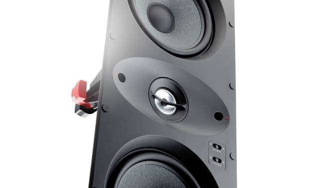 Focal 100 IW LCR5 Tweeter and midrange output adjustments