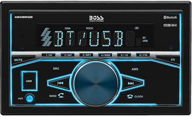 Boss 480BRGB Add Bluetooth and a USB input to your ride