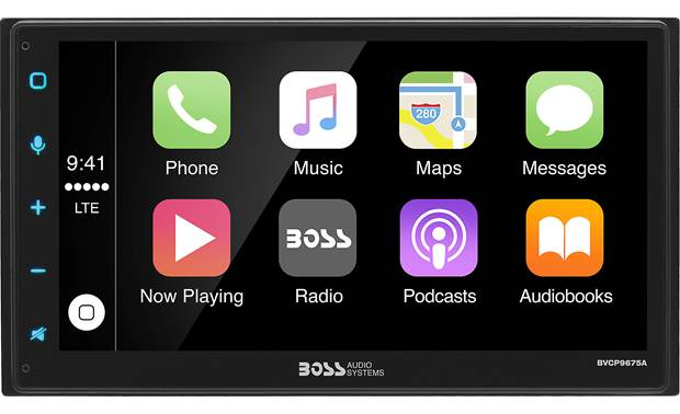 Boss BVCP9675A Choose between Apple CarPlay or Android Auto depending on your smartphone
