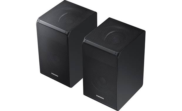 Samsung HW-N950 Rear speakers are wireless and include up-firing drivers for overhead effects