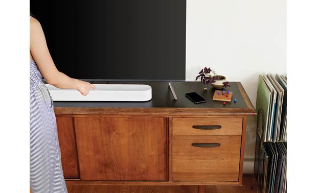 Sonos Beam 3.1 Home Theater System Beam features top-mounted controls (TV not included)