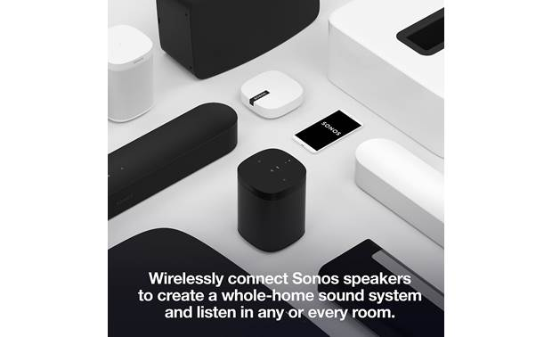 Sonos Beam 3.1 Home Theater System Wirelessly connects with all Sonos products (available separately, smartphone not included)