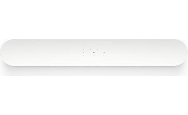 Sonos Beam white - top-mounted control buttons