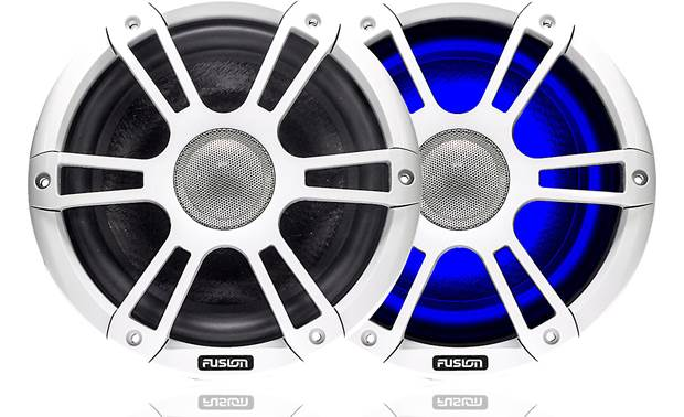 Fusion SG-CL77SP marine LED speakers
