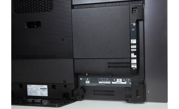 Sony XBR-55A8F Back, showing A/V connections