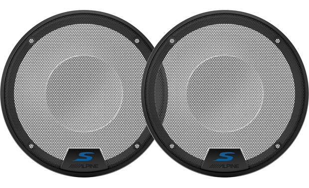 Alpine KTE-S65G Add grilles to Alpine's S-S65 and S-S65C car speakers