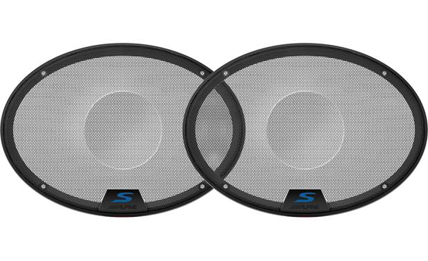Alpine KTE-S69G Add grilles to Alpine's S-S69 and S-S69C car speakers