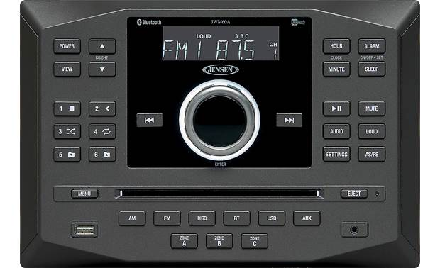 Jensen JWM60A The JWM60A offers easy-to-use controls