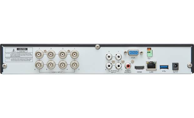 Wisenet SDH-SF440 8x4 Super HD System Back of DVR