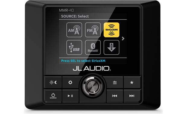 JL Audio MMR-40 independent day/night brightness settings