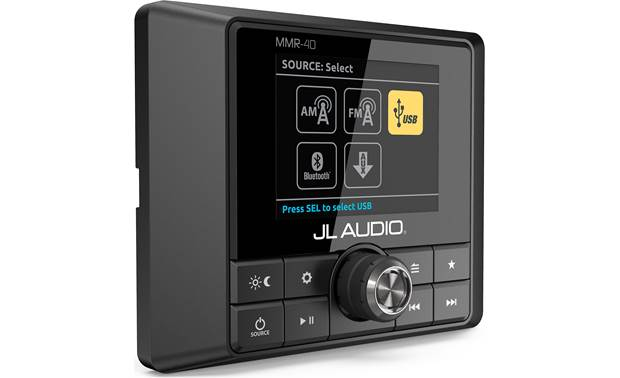 JL Audio MMR-40 control all receiver sources