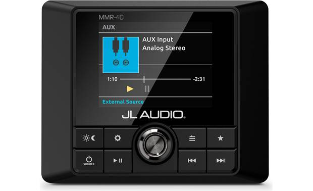 JL Audio MMR-40 works with your MediaMaster receiver