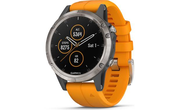 Garmin fenix 5 Plus Sapphire The fenix 5 Plus is the ultimate in multi-sport watches