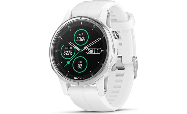 Garmin  fenix 5S Plus Sapphire The fenix 5S Plus is the ultimate in multi-sport watches