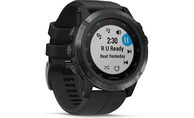 Garmin fenix 5X Plus Sapphire Built-in music player