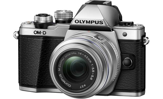 Olympus OMD E-M10 Mark II Kit Front