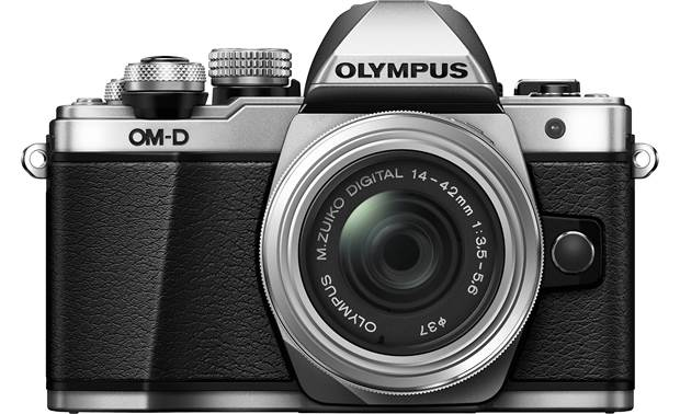 Olympus OMD E-M10 Mark II Kit Front, straight-on