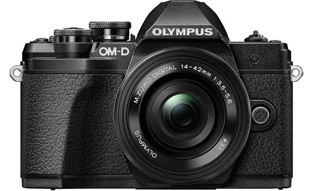 Olympus OM-D E-M10 Mark III Kit Front, straight-on