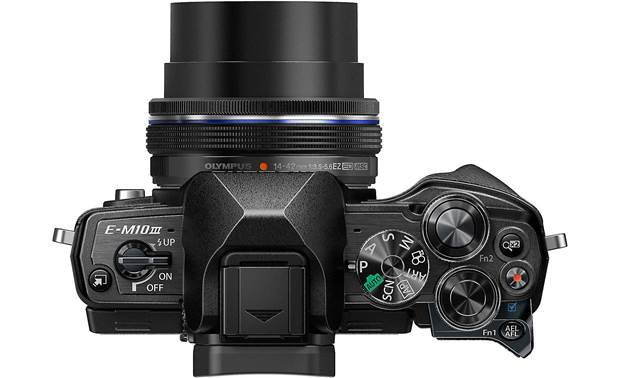 Olympus OM-D E-M10 Mark III Kit Top