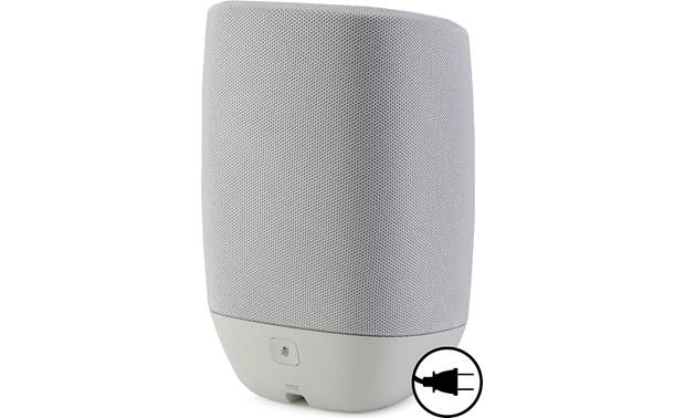 Polk Assist Cool Gray - back (AC power required)