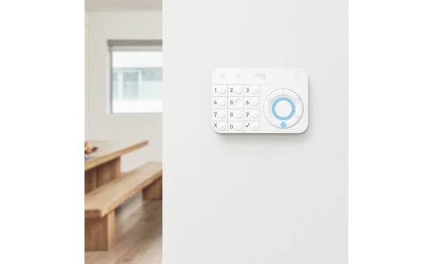 Ring Alarm Security Kit The keypad arms and disarms your system
