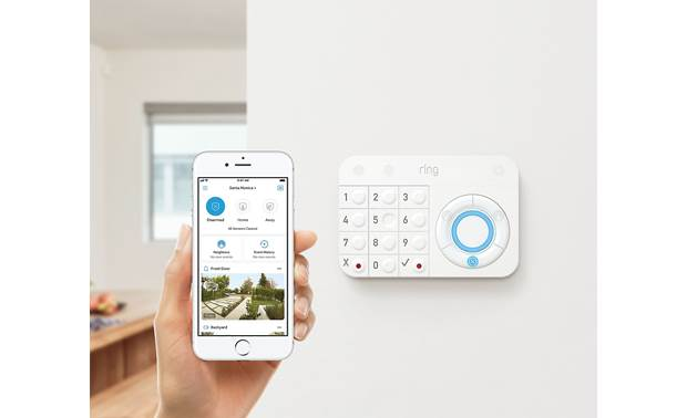 Ring Alarm Security Kit Control everything from your smartphone or keypad